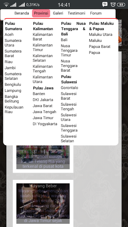 Indopesona- screenshot
