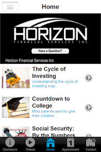 Horizon Financial Services- screenshot thumbnail