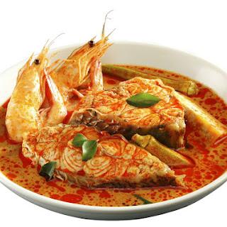 Penang Nyonya style Assam Fish Curry.