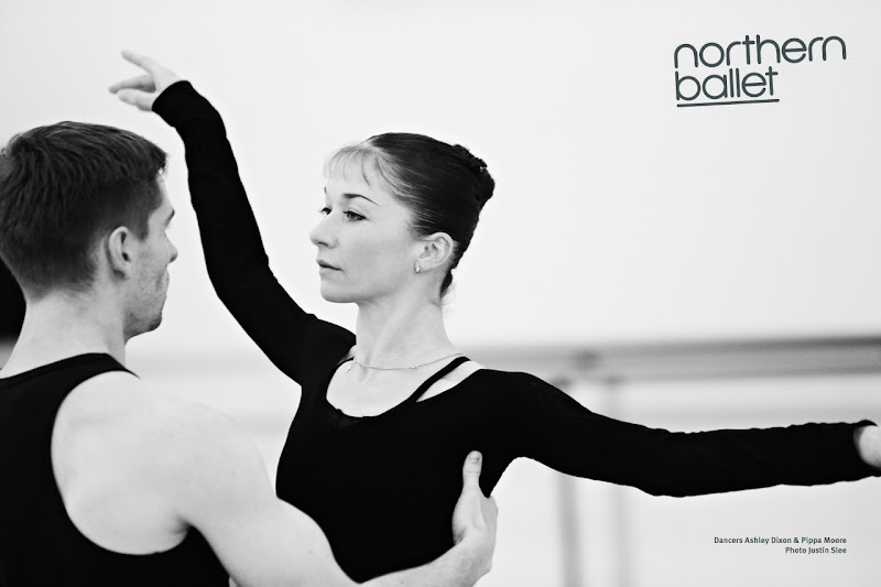 Photo: Northern Ballet dancers Ashley Dixon & Pippa Moore. Photo Justin Slee.