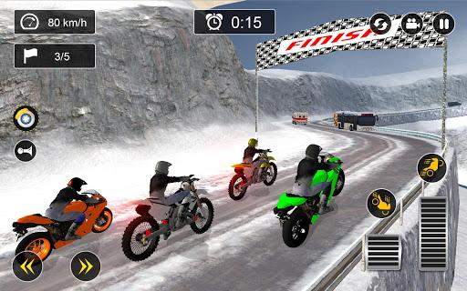 Snow Mountain Bike Racing 2019 - Motocross Race download 1