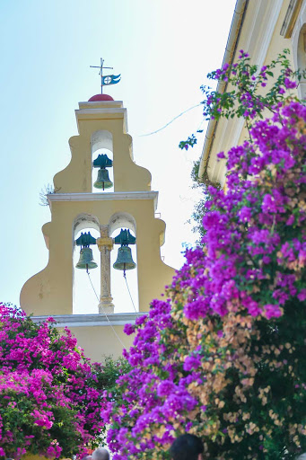 Ponant-Greece-Corfu-church.jpg - Stroll the streets of Corfu, Greece, and return to the luxury of a Ponant ship.