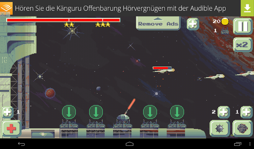 android Space Base TD Screenshot 2