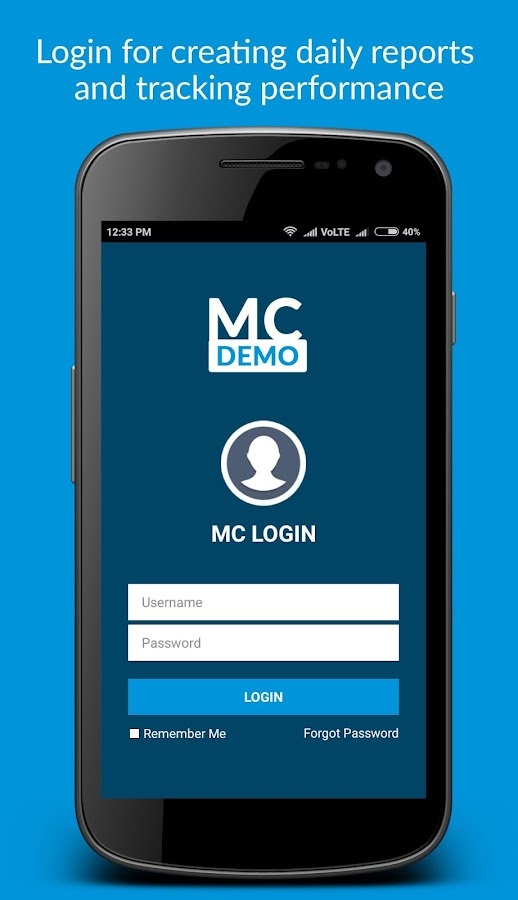 Merchandiser Demo App- screenshot