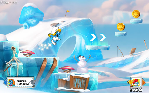 Smurfs Epic Run - Fun Platform Adventure