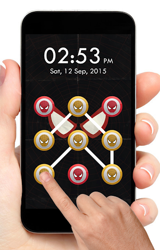Spidey Pattern Lock Screen