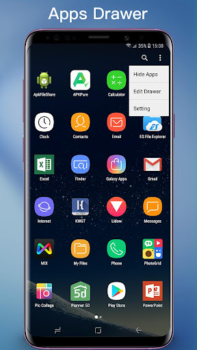S Launcher - S10/S9/S8 Launcher, S10 theme, cool 6.3 screenshots 2