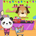 Pretend Pet Supermarket: Town Animal Mall Shopping icon