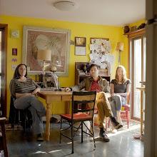 Photo: title:Rachel Silverman, Kevin & Stella McMahon, New Paltz, New York date: 2013 relationship: friends, met through old school Portland years known: 20-25