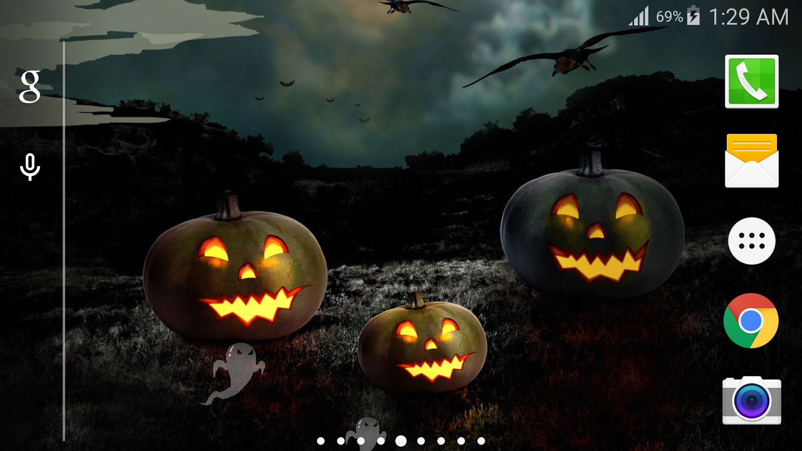 halloween live wallpaper pro android apps on google play