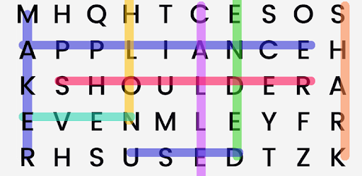 Word Search game (apk) free download for Android/PC/Windows screenshot