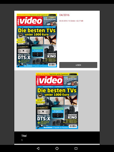 video Magazin screenshot 10
