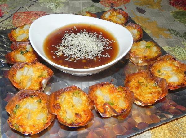 Crab Wonton Cups Recipe