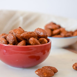 Sriracha Roasted Almonds Recipe