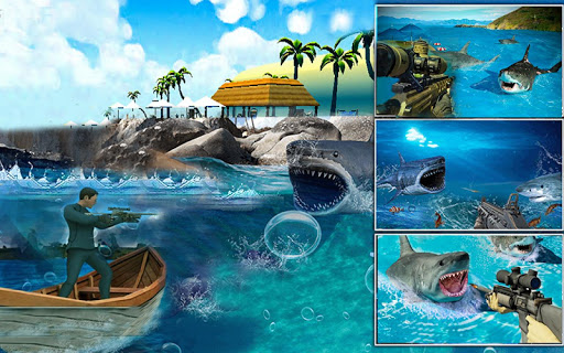 Real Whale Shark Sniper Gun Hunter Simulator 19 1.0.4 screenshots 5