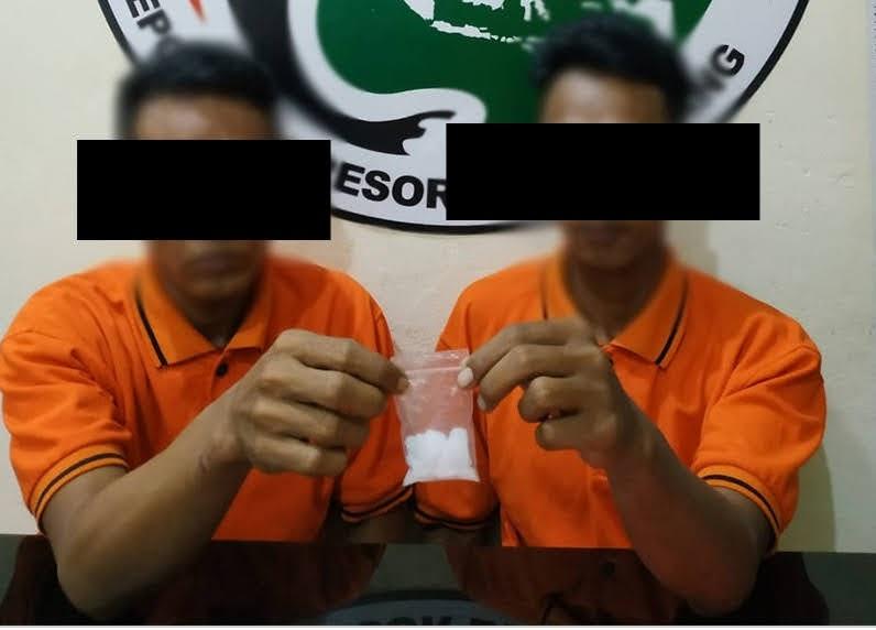 Kepolisian Resort Bengkayang Ringkus Dua Pemuda Budak Sabu