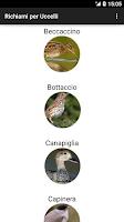 Screenshot of Uccelli da richiamo (Free)