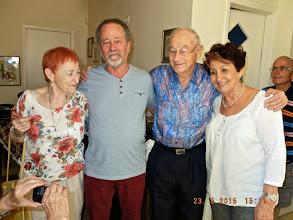 Photo: Heather, Bish, Danny & Frida