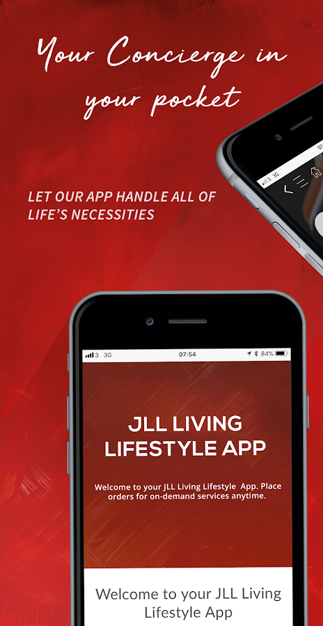 JLL Living Lifestyle App- screenshot
