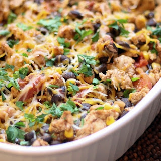 Healthy Mexican Casserole.