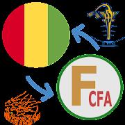 Francs CFA Guinean Francs / XAF to GNF Converter