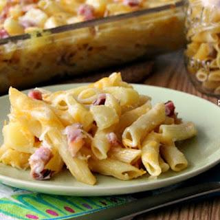Ham and Pineapple Pasta Bake Recipe
