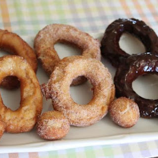 BUTTERMILK CAKE DOUGHNUTS