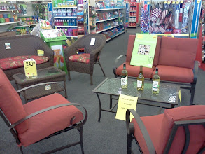 Photo: As I walked in CVS I was immediately met with this great outdoor set, very nice.