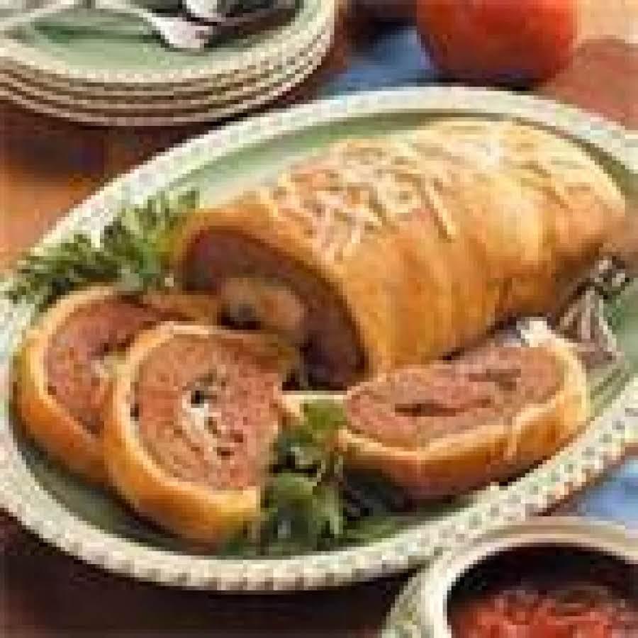 Taste Of Home S Restaurant Meatloaf Wellington Recipe Just A Pinch