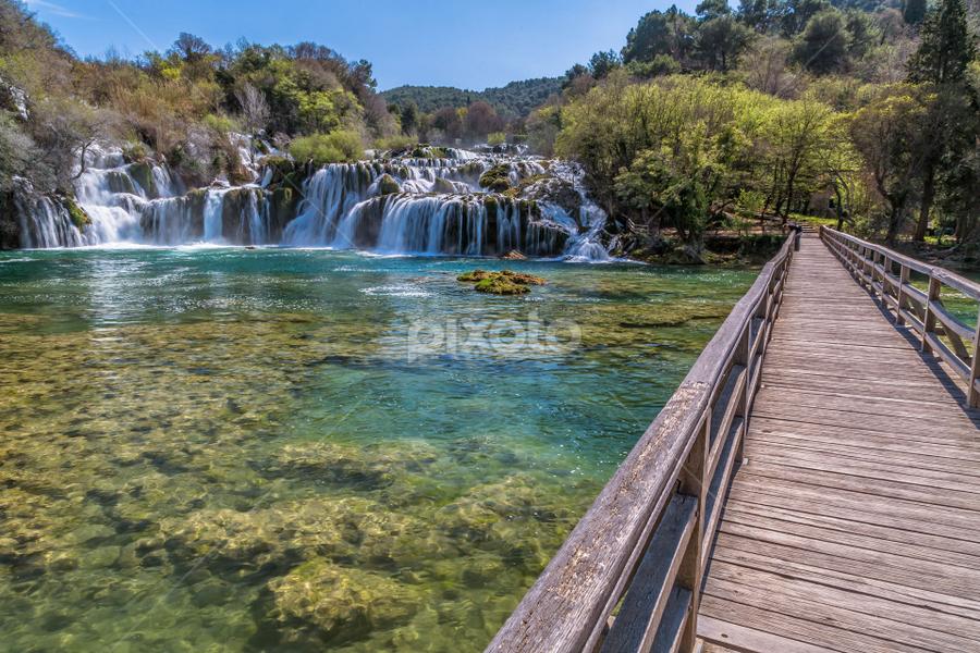 National park Krka by Stanislav Horacek - Landscapes Waterscapes