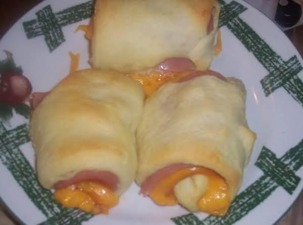 Ham & Cheese Crescents Recipe
