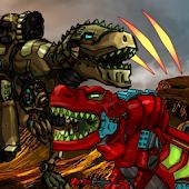 Dino Robot Battle Arena Mod