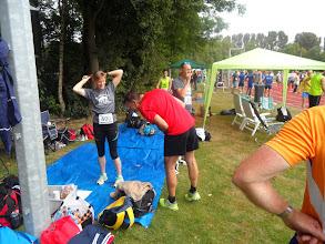 Photo: Klaar maken voor de start