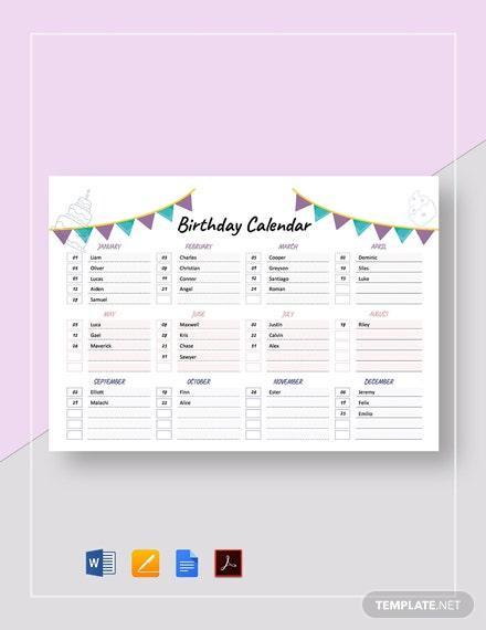 E:\статьи\Декабрь 30+ Free Calendar Templates In Google Docs\Birthday-Calendar.jpg