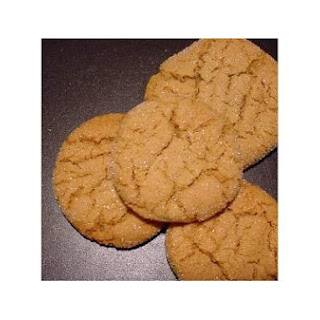 Ginger Crack Cookies