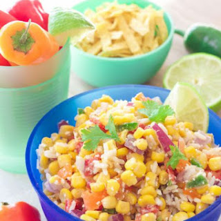 Easy Mexican Chopped Corn Salad