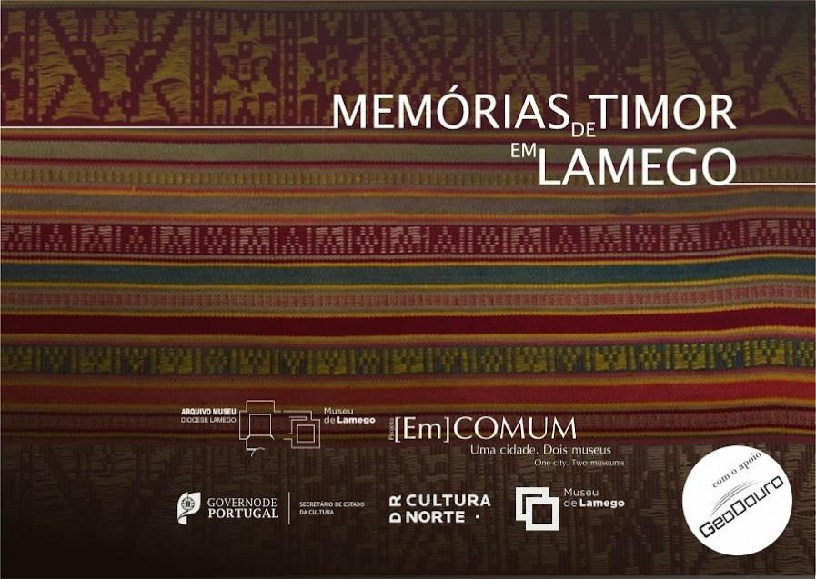 """""""Memórias de Timor em Lamego"""" agora em livro - Museu de Lamego"""