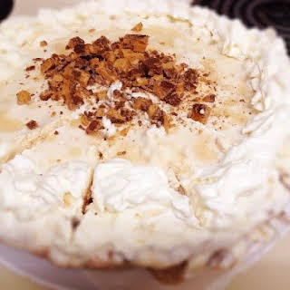 Easy Iced Coffee and Cream Pie.