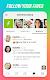 screenshot of Clover Dating App