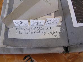 Photo: no-content.net / no-content.org (bitácora) // artist book // brian mackern - abril 2002