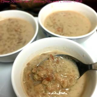 Goan Rosatle Fov / Beaten Rice with Coconut Milk