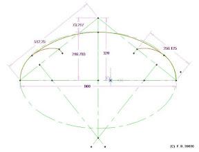 Photo: anse de panier variante B comparatif avec ellipse