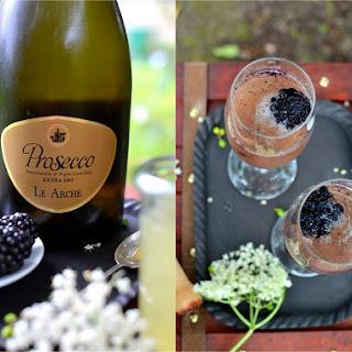 Prosecco, Blackberry & Elderflower Aperitif