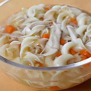 Gingered Chicken Noodle Soup