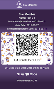 UA Cinemas – Mobile Ticketing- screenshot thumbnail