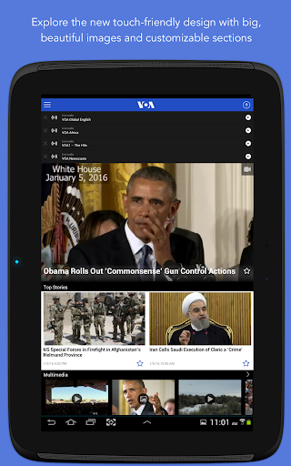 VOA News 3.3.1 screenshots 9