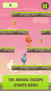 Speedy Bunny: Run, Jump & Tilt screenshot 1