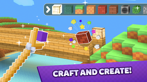 Crafty Lands - Craft, Build and Explore Worlds  captures d'écran 2
