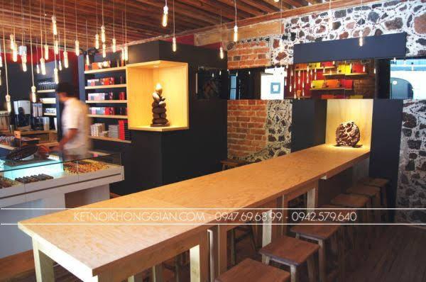 Thiết kế cửa hàng socola 4