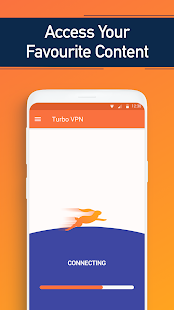 Turbo VPN- Free VPN Proxy Server & Secure Service Capture d'écran